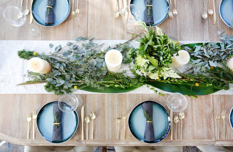 Eleganat table setup