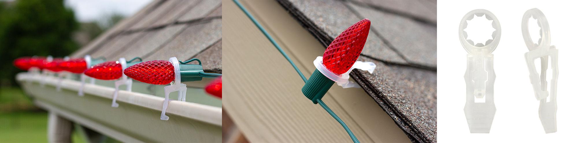 minleon tuff christmas light clip