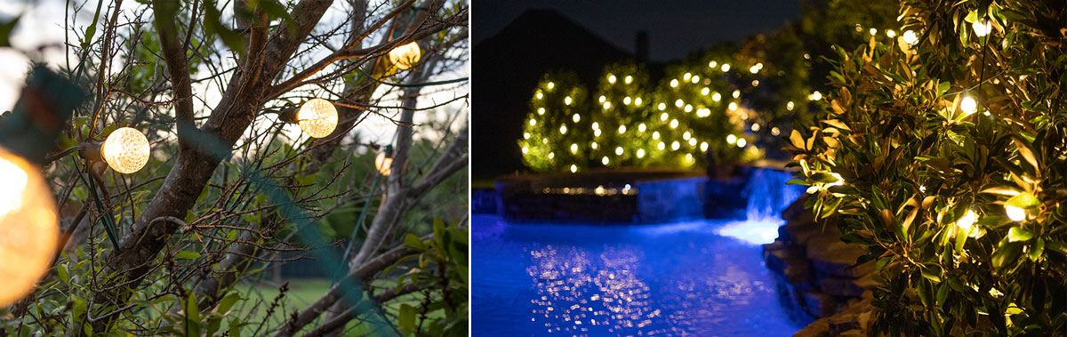 custom outdoor string lights for fall