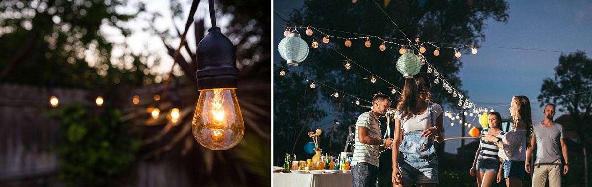 led outdoor string lights